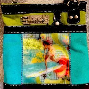 Sherpani surfer shoulder bag